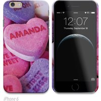 Personalised Phone Cover - Candy Hearts - Candy Gifts