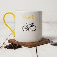 Personalised Bicycle Mug - Bicycle Gifts