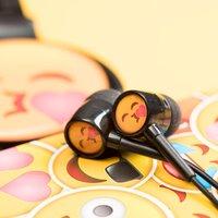 Kiss Emoji Earphones - Music Gifts