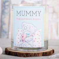 Personalised Me To You Scented Candle - Mummy Pillow Snuggle - Me To You Gifts