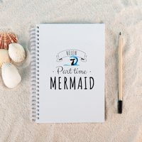 Personalised Notebook - Mermaid - Mermaid Gifts