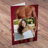 Photo Upload Card - Hot Hunks Board - Men Gifts