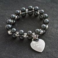 Personalised I Love You Mum Bracelet