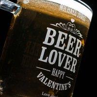Personalised Engraved Pint Tankard - Beer Lover