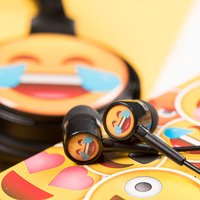 Crying With Laughter Emoji Earphones - Laughter Gifts