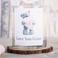 Personalised Me To You Scented Candle - Love You Gran - Me To You Gifts