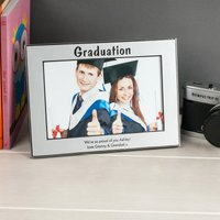 Personalised 'Graduation' Silver Photo Frame - Graduation Gifts
