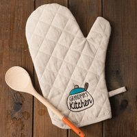 Image of Personalised Oven Glove - Kitchen Pot