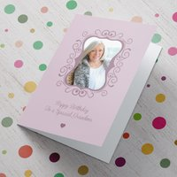 Photo Upload Card - To A Special Grandma - Grandma Gifts