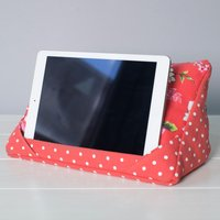 coz-e-reader® Japanese Floral Cushion Tablet Stand - Japanese Gifts