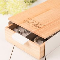 Personalised Reflexion Jewellery Box - Well Done On Your Graduation - Graduation Gifts