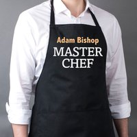 Personalised Apron - Master Chef - Chef Gifts