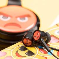 Angry Emoji Earphones - Music Gifts
