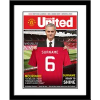 Personalised Manchester United News - News Gifts