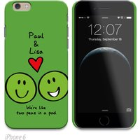 Personalised Phone Cover - Peas In A Pod - Phone Gifts