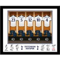 Personalised Tottenham Hotspur Dressing Room Print - Tottenham Hotspur Gifts