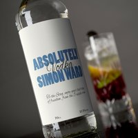 Personalised Vodka - Absolutely - Vodka Gifts