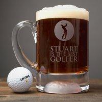 Personalised Golf Tankard - Best Golfer - Golf Gifts