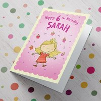 Personalised Card - Juggling Cupcakes - Cupcakes Gifts