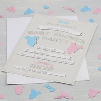 Little Lady Mini Mister - Baby Shower Invitations (Pack Of 10) - Baby Gifts