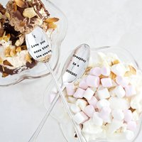 Personalised Long Ice Cream Spoon - Ice Cream Gifts