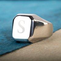 Personalised Men's Signet Ring - Ring Gifts