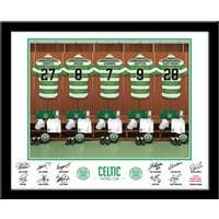 Personalised Celtic Dressing Room Print - Celtic Gifts