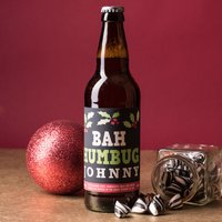 Personalised Beer - Bah Humbug - Beer Gifts