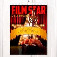 Personalised Film Star Calendar - Film Gifts