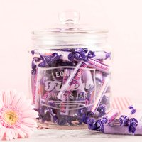 Personalised Glass Jar - Finest Sweets - Sweets Gifts