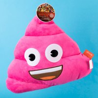 Pink Poo Emoji Cushion - Poo Gifts