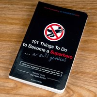 101 Things To Do To Become A Superhero/Evil Genius - Gift Book - Book Gifts