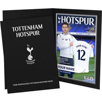 Personalised Tottenham Hotspur Magazine Cover - Personalised Gifts Gifts