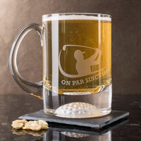 Personalised Pint Tankard - On Par Since...