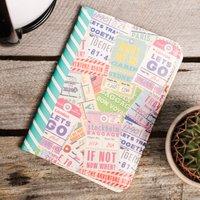 Travel Print Passport Holder - Passport Gifts