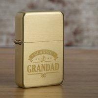 Engraved Gold Lighter - Classic, Any Name - Lighter Gifts