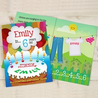 Personalised Counting Birthday Book - Book Gifts