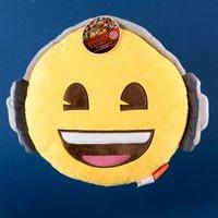 Headphones Emoji Cushion - Music Gifts