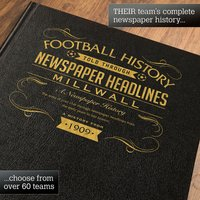 Personalised Millwall Football Book - Football Gifts