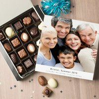 Personalised Belgian Chocolates - Full Picture & Message - Picture Gifts