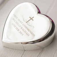Engraved Heart Paperweight - Holy Communion - First Holy Communion Gifts