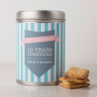 Personalised Hot Chocolate - Ten Years Together - Hot Chocolate Gifts