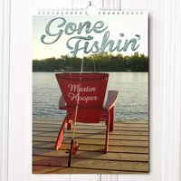 Personalised Fishing Calendar - New Edition - Fishing Gifts