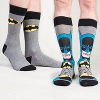 Mens Superhero Socks - Superman, Batman & The Joker - Batman Gifts