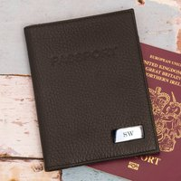 Personalised Leather Passport Holder - Passport Gifts
