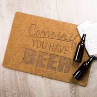 Personalised Come In If You Have… Outdoor Doormat - Outdoor Gifts