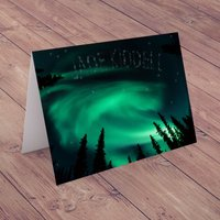 Personalised Card - Northern Lights - Lights Gifts