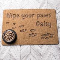 Personalised Wipe Your Paws Outdoor Doormat - Outdoor Gifts