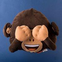 Monkey Emoji Cushion - Monkey Gifts