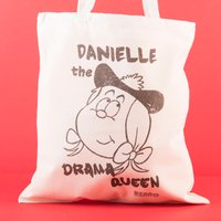 Personalised Beano Big Heads Tote Bag - Minnie - Beano Gifts